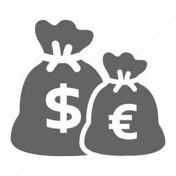 currency, finance, investment, money, solid, stock icon