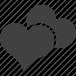 account, avatar, heart, like, love, profile match, romance icon