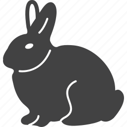 animal, bunny, cute, mammal, pet, rabbit icon