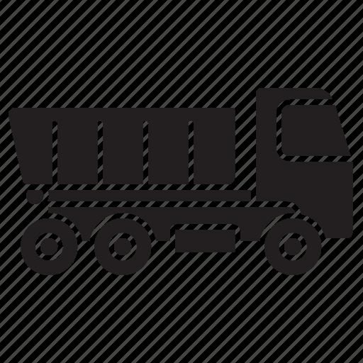 construction, dump truck, haiul truck, industry, tipper, vehicle icon