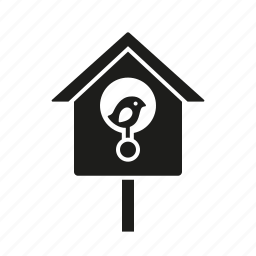 animal, bird, birdhouse, equipment, garden icon