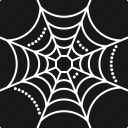 cobweb, halloween, horror, net, scary, spider net, spooky icon