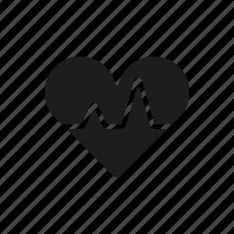 healthcare, heart, heartbeat, hospital, medical, medicine, pulse icon