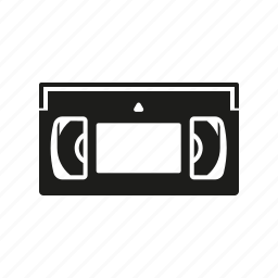 cassette, cinema, entertainment, movie, vhs, video icon
