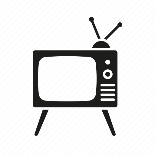 cinema, entertainment, movie, television, tv set icon