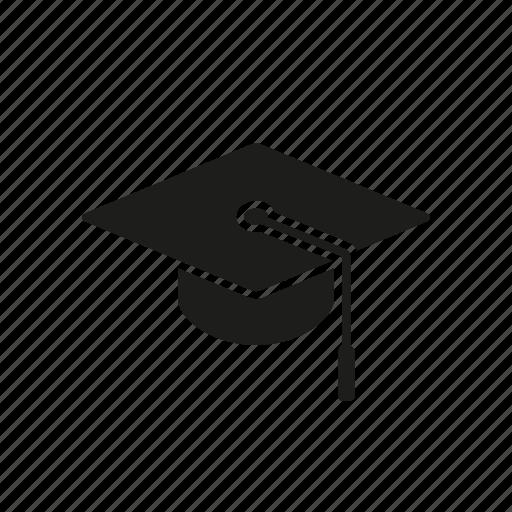 college, education, graduation, hat, mortarboard, school, tassel icon
