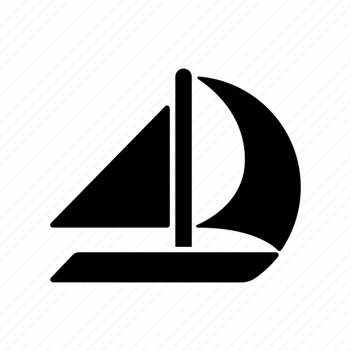 boat, equipment, sail, sail boat, sailing, sports, water sports icon
