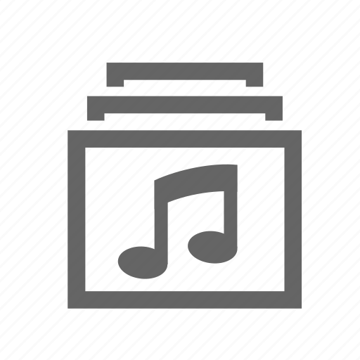 audio, cd, disk, music, note, record, sound icon