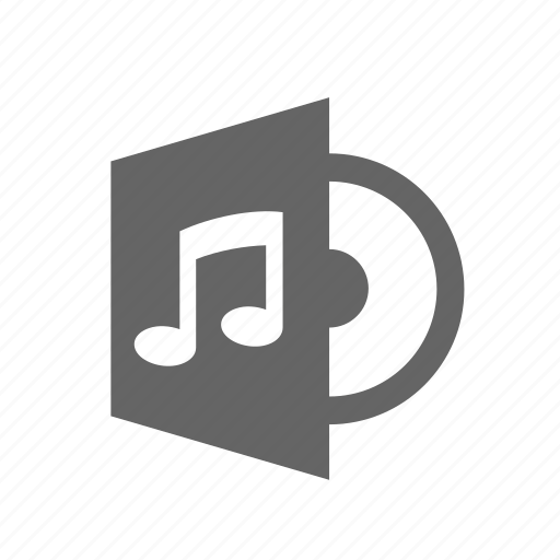 audio, cd, disk, melody, music, note, sound icon
