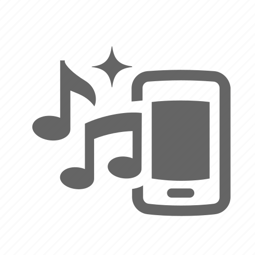 audio, melody, mobile, music, note, play, sound icon