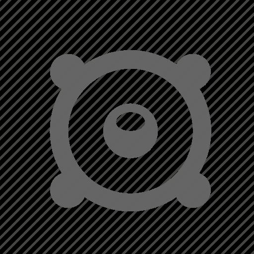 column, loudness, loudspeaker, media, sound, speaker, volume icon