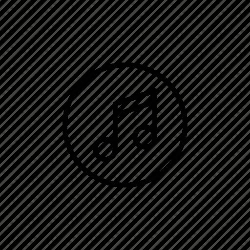 Audio, music, note, sound icon - Download on Iconfinder