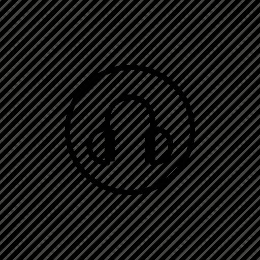 audio, headphone, music, sound icon