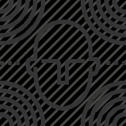 audio, binaural, head, music, reality, sound, virtual icon