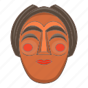 cartoon, culture, elderly, korea, korean, mask, traditional icon