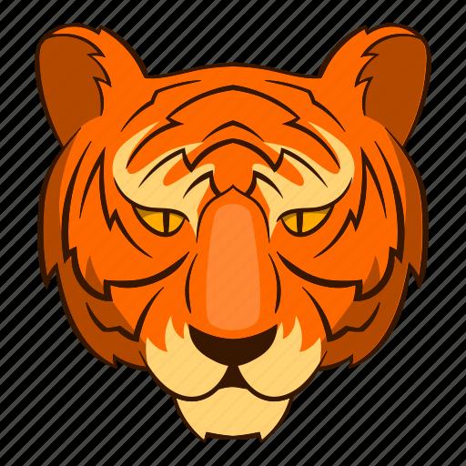 cat, classic, concept, graphic, head, tattoo, tiger icon