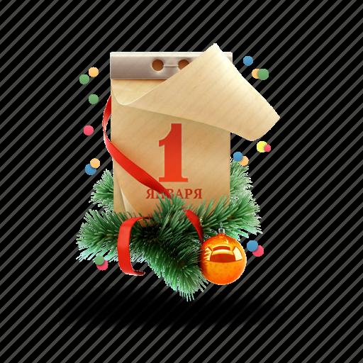 calendar, christmas, christmas toy, christmas tree, new year icon
