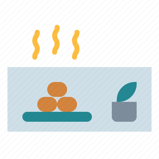 Beauty, hot, sauna, stones, wellness icon - Download on Iconfinder