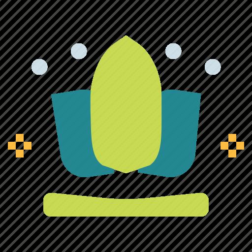 Botanical, lotus, meditation, yoga icon - Download on Iconfinder