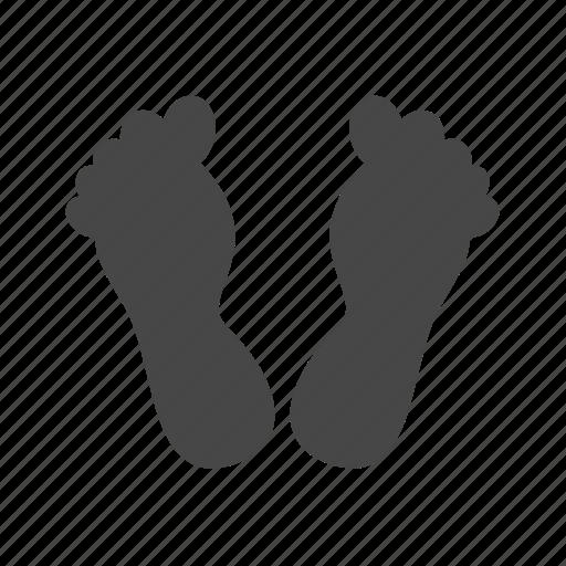 foot, spa icon