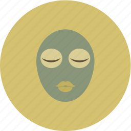 mask, nature, relax, spa icon
