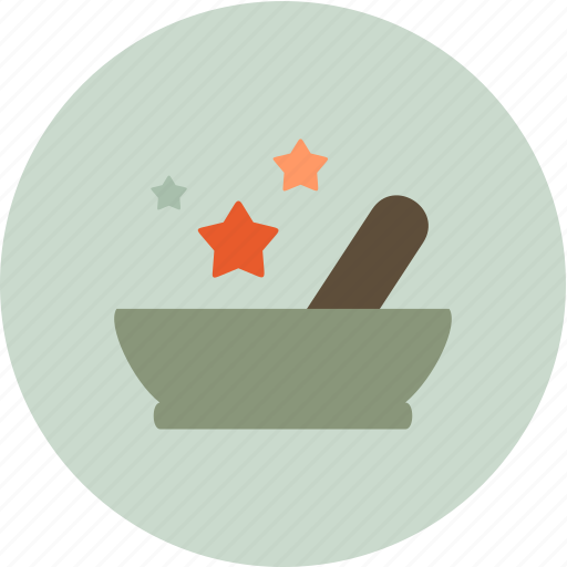 nature, plate, relax, spa icon