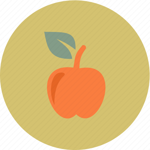 apple, fruit, nature, relax, spa icon