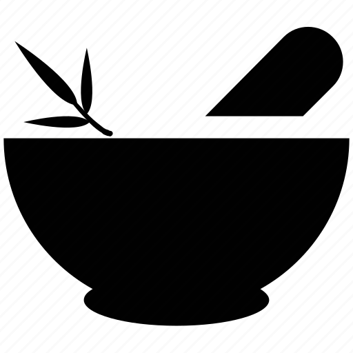 bowl, herbal, herbal bowl, ingredients, mixer, pharmacy, spa icon