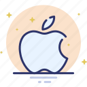 apple, apple computers, logo, spaark icon