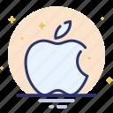 apple, apple computers, logo, spaark