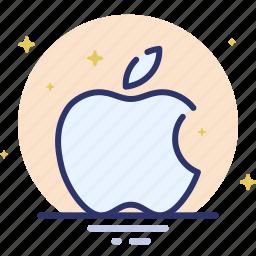 apple, apple computers, logo, spaark icon