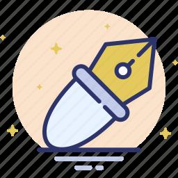 design, draw, pen, pen tool, write icon
