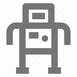 android, machine, outer, robot, space, technology, universe icon
