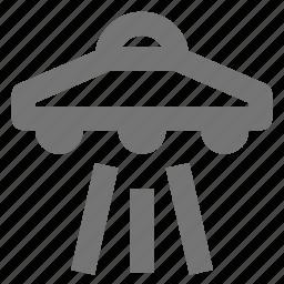 saucer, spacecraft, spaceship, ufo icon