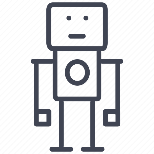 android, device, machine, robot, technology, toy icon
