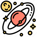 planet, solar, space, system, universe