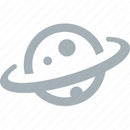 outer, planet, space icon