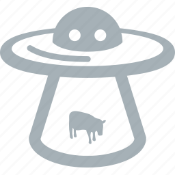 outer, space, ufo icon