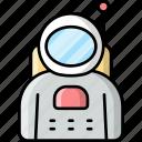 astronaut, cosmonaut, spaceman