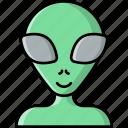 alien, ufo, monster