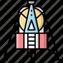 lunar, module, space, station
