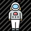 astronaut, spaceman, cosmonaut