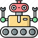 robot, rover, humanoid