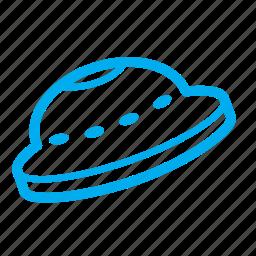 .svg, artificial object, u.f.o., ufo, unidentified flying object icon