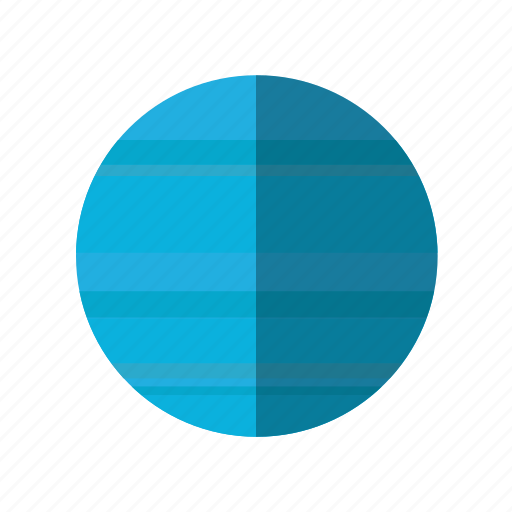 astronomy, neptune, planet, science, space icon