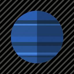 astronomy, planet, science, space, uranus icon
