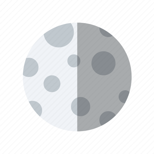 astronomy, moon, planet, science, space icon