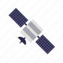 astronomy, satellite, science, space icon