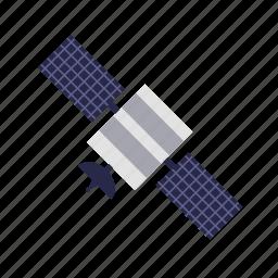 astronomy, satellite, science, space icon