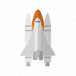 astronomy, science, shuttle, space, spaceship icon